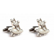 Cufflinks with dancers. For dance lovers. Various colors