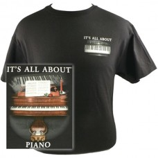 T-shirt It's all about Piano