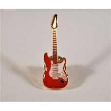 Pin Brooch Fender Stratocaster guitar, various colors