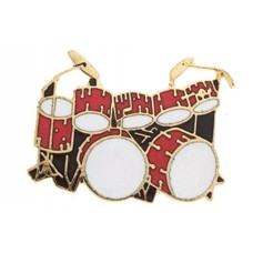 Pin of drums. Various colors