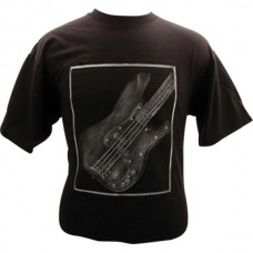 T-Shirt Fender Precision grau relief