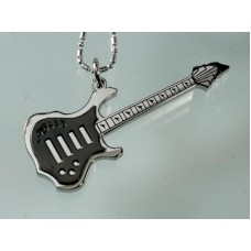 Steel necklace: electric guitar. Various colors