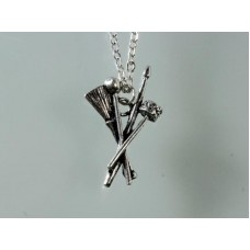 Alchemy necklace: Drum sticks (for drummer)