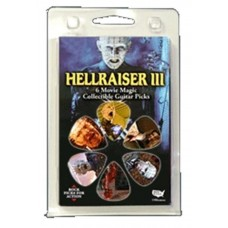 6 plectrums (6 different subjects) 3D collection: Hellraiser III