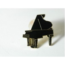 Pin with Grand Piano