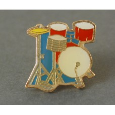 Pin with colored drums