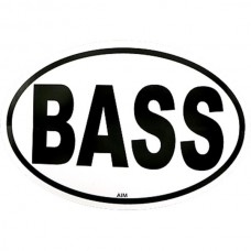 Sticker, also for cars: Bass