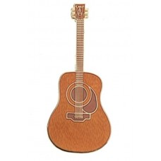 Pin with Martin D45 acoustic guitar