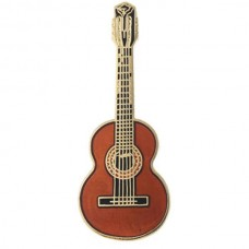 Pin brooch Classical guitar