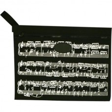 Portfolio bag with side handle. Musical score