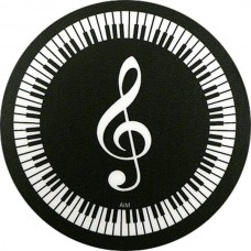 Coaster with piano for pianist