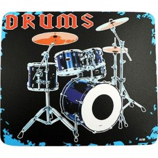 Mouse pad, with drums. For drummer
