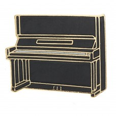 Pin with Vertical piano