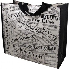 Work bag (musical) or shopping with classical sheet music