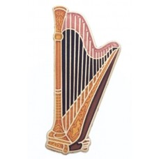 Pin with Harp