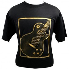 T-shirt Les Paul Gold embossed print