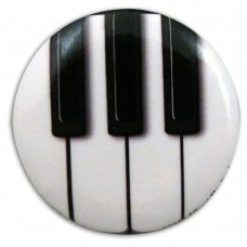 Badge pin Piano keyboard