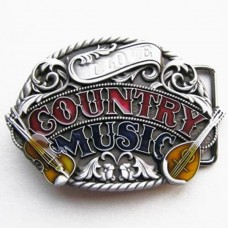 Belt buckle: Country Music Lovers