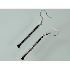Earrings with Clarinet