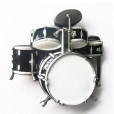 Belt buckle: drummer set