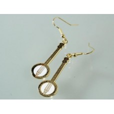 Earrings with Banjo