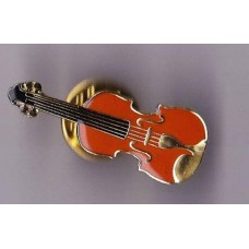 Pin with Violin