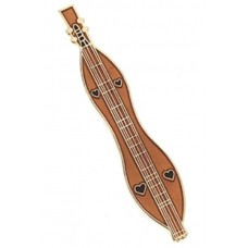 Pin with Appalachian Dulcimer
