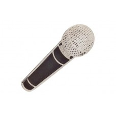 Pin with Shure microphone