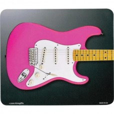 Mouse pad, with Fender Stratocaster guitar